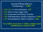 assisted reproductive technology art