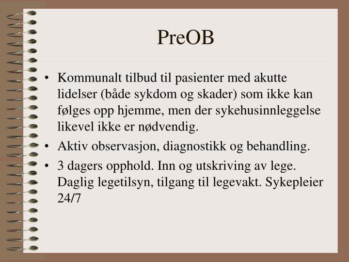 PreOB