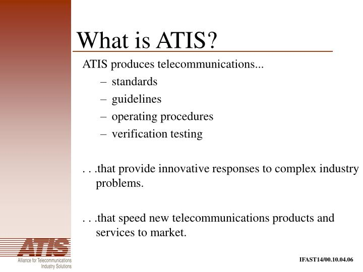 What is atis1