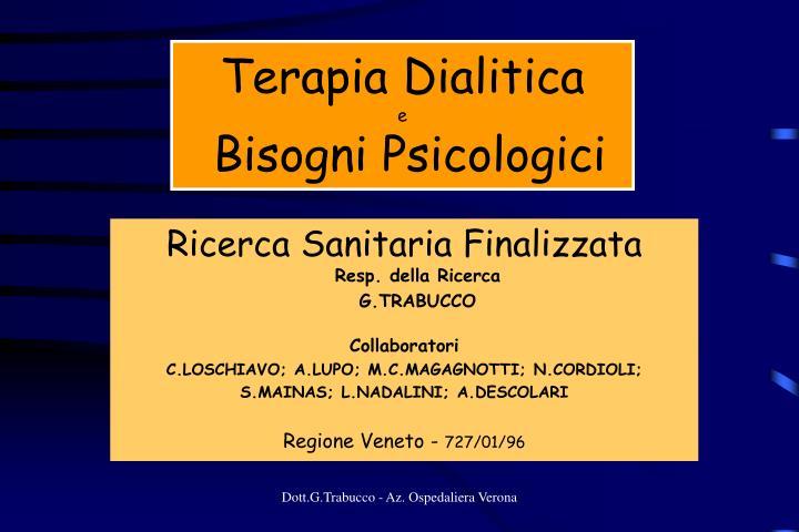 Terapia Dialitica
