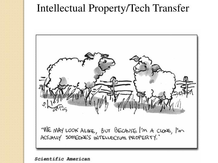 Intellectual Property/Tech Transfer