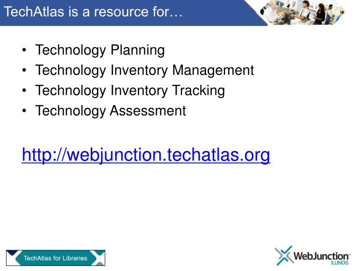 Techatlas is a resource for