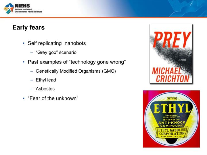 Early fears