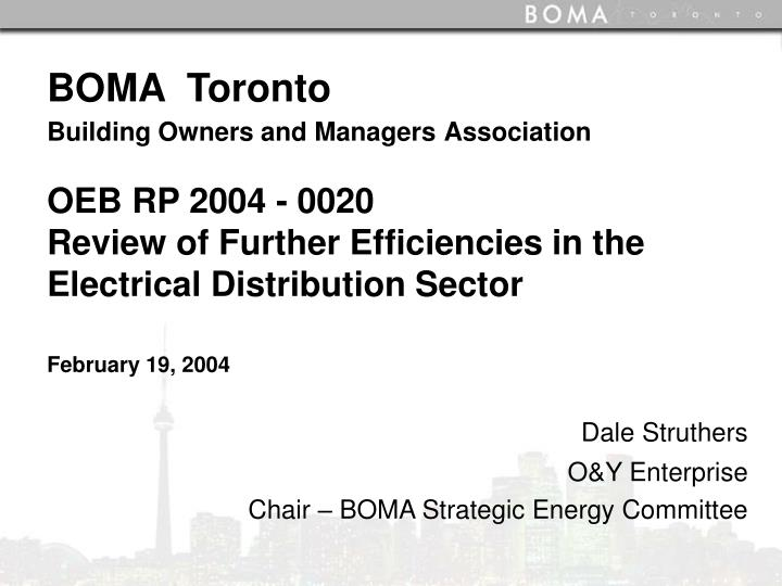 dale struthers o y enterprise chair boma strategic energy committee