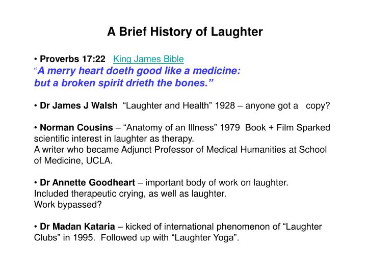 Ppt Laughter The Best Medicine Powerpoint Presentation Id4464997