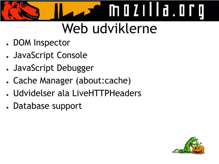 Web udviklerne
