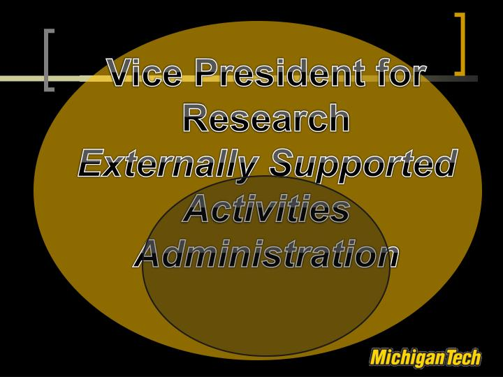 Vice President for Research