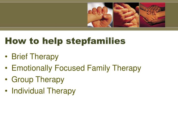 How to help stepfamilies