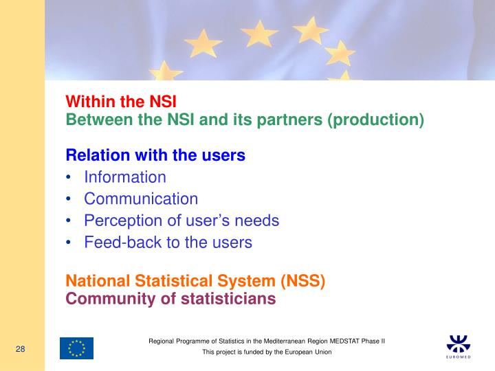 Within the NSI