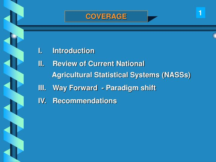 Assessment of national agricultural statistical systems in africa by prof ben kiregyera