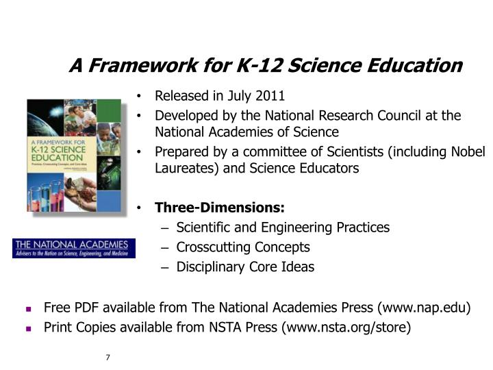 A Framework for K-12 Science Education