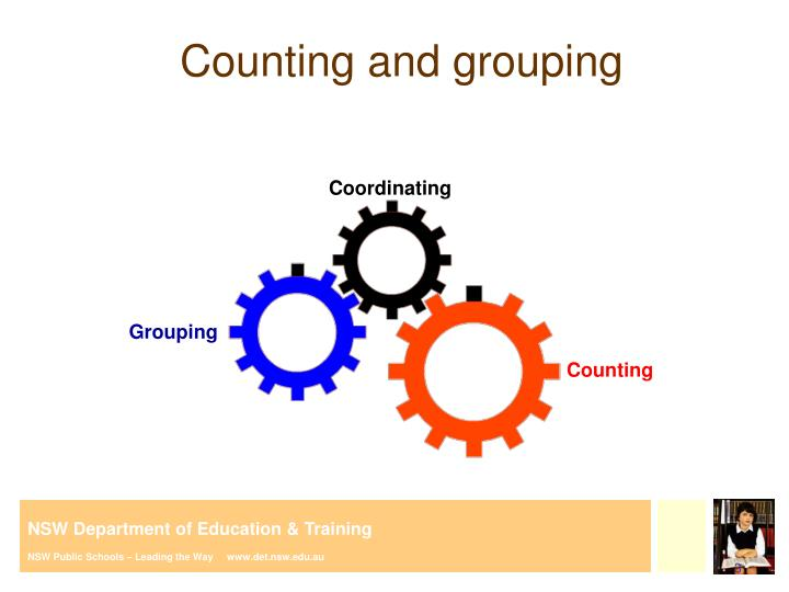 Counting and grouping