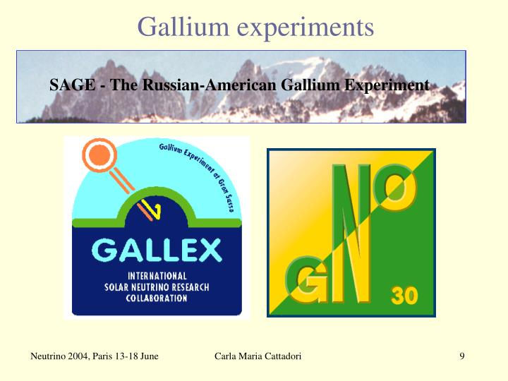 SAGE - The Russian-American Gallium Experiment