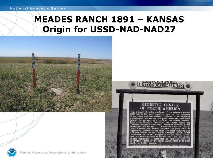 MEADES RANCH 1891 – KANSAS