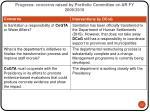progress concerns raised by portfolio committee on ar fy 2009 2010