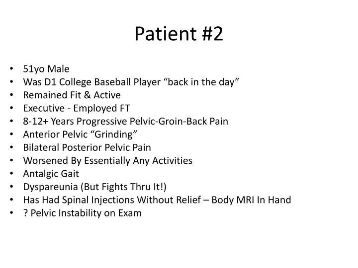 Patient #2