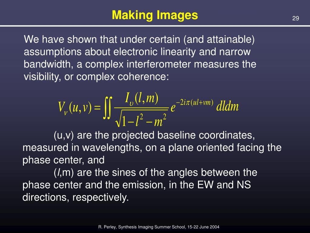 PPT - Fundamentals of Radio Interferometry PowerPoint Presentation