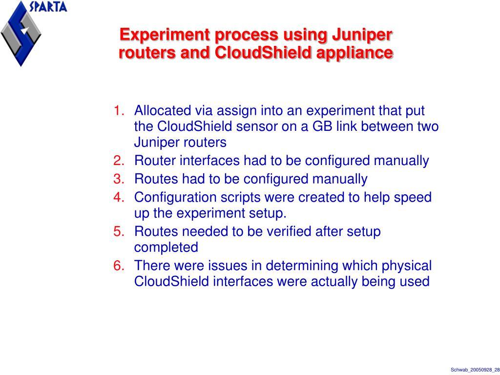 Juniper Arp Permanent
