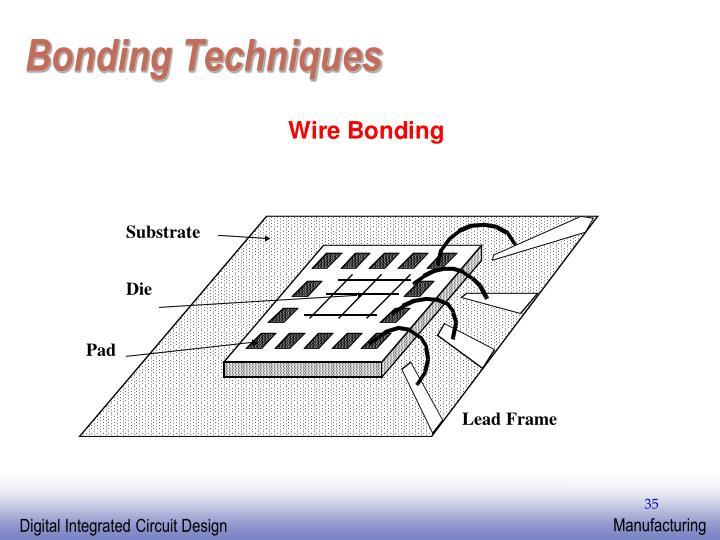 Bonding Techniques