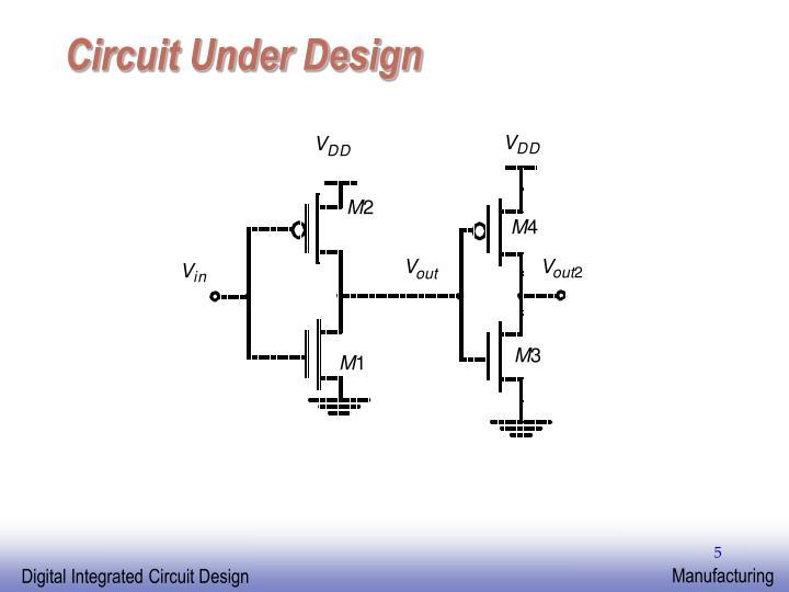 Circuit Under Design