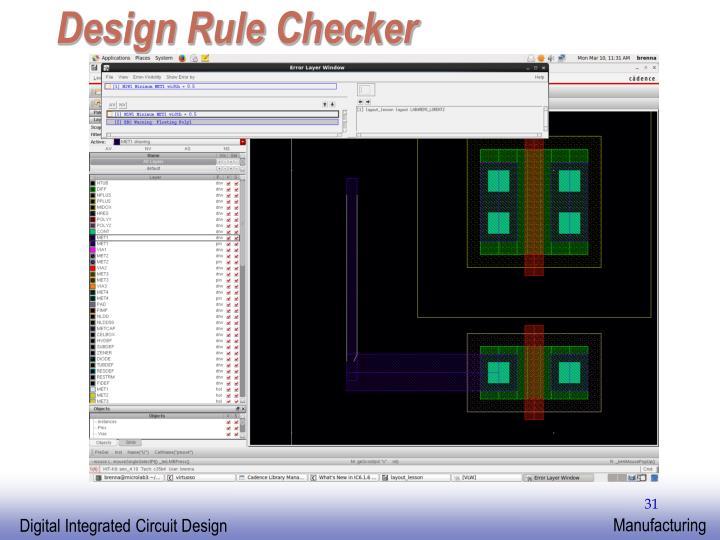 Design Rule Checker