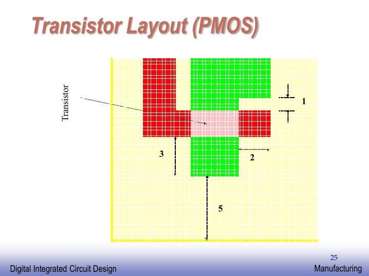 Transistor Layout (PMOS)