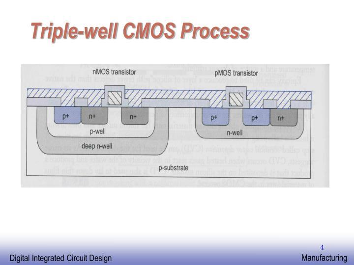 Triple-well CMOS Process