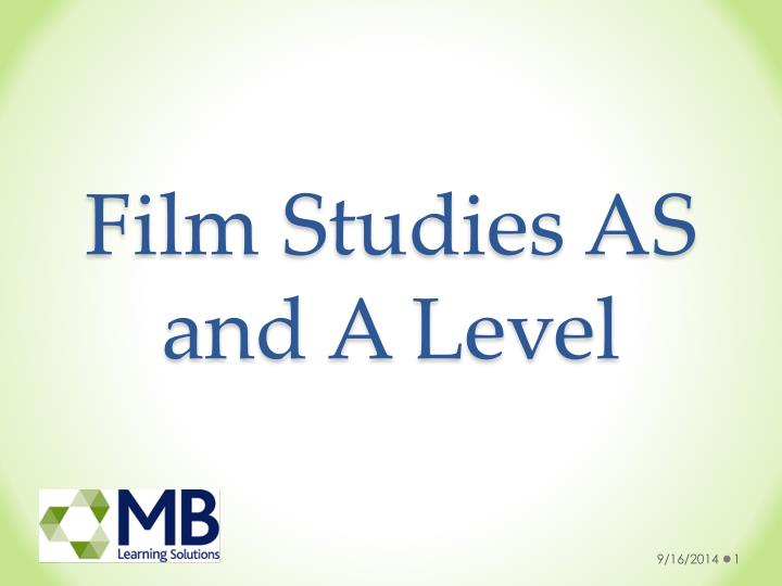 film studies as and a level n.