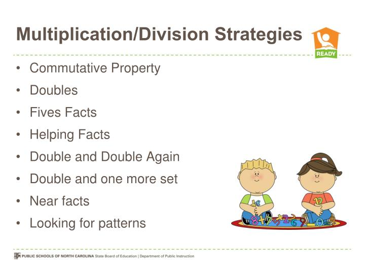 Multiplication/Division Strategies