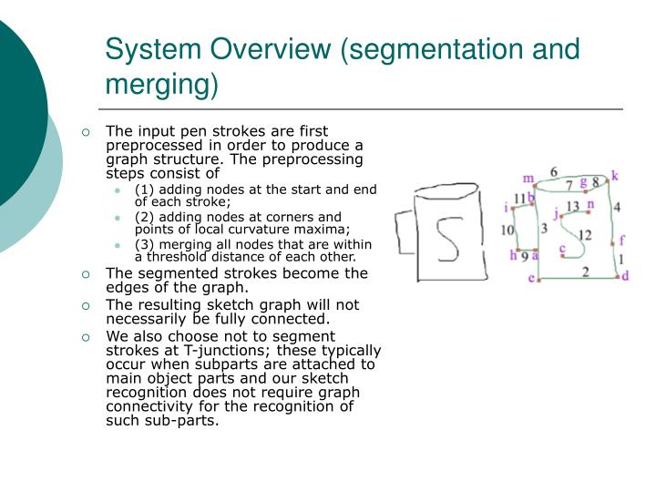 System Overview (segmentation and merging)