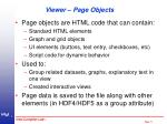 viewer page objects