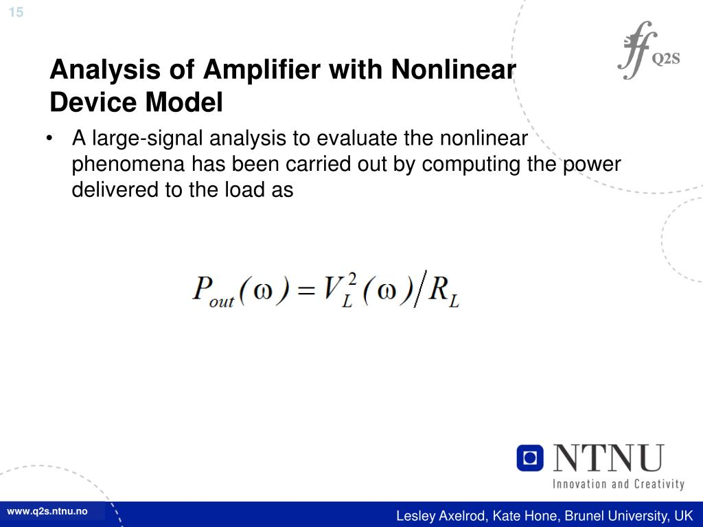 PPT - Modeling of Nonlinear Active Circuits Using FDTD Approach