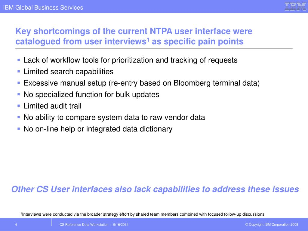 PPT - Credit Suisse Reference Data Workstation PowerPoint
