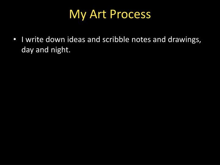 My Art Process