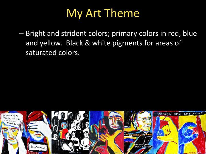 My Art Theme