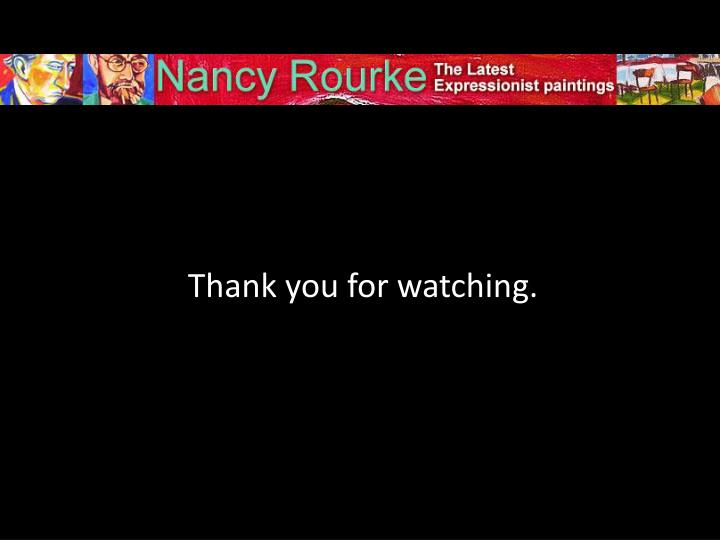 Thank you for watching.