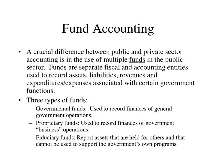 Fund Accounting