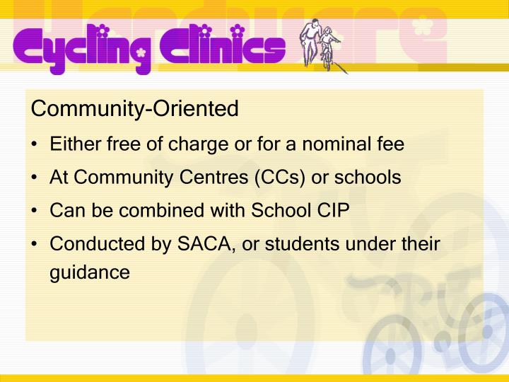 Community-Oriented