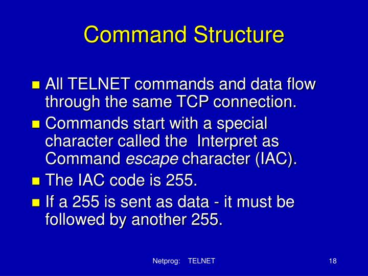 Command Structure