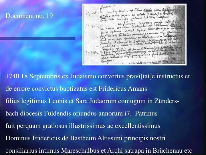 Document no. 19