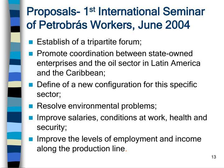 Proposals- 1