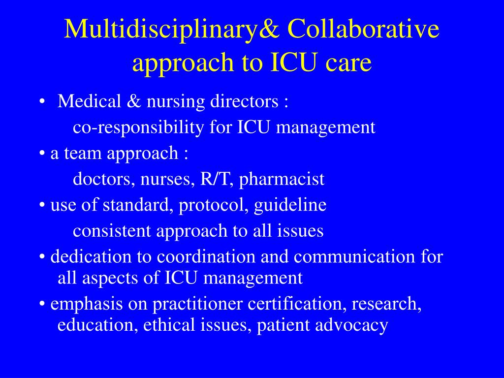 PPT - Critical Care Delivery in ICU PowerPoint Presentation