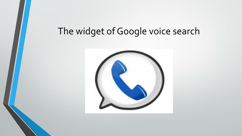 PPT - GOOGLE VOICE SEARCH PowerPoint Presentation - ID:4469711