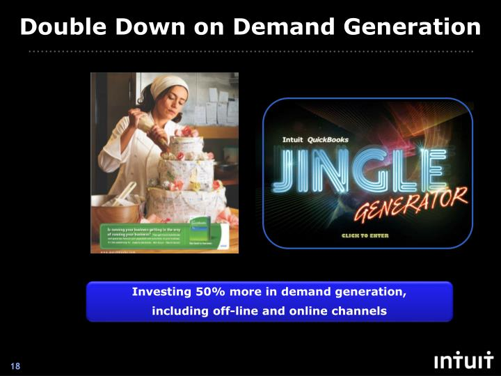 Double Down on Demand Generation