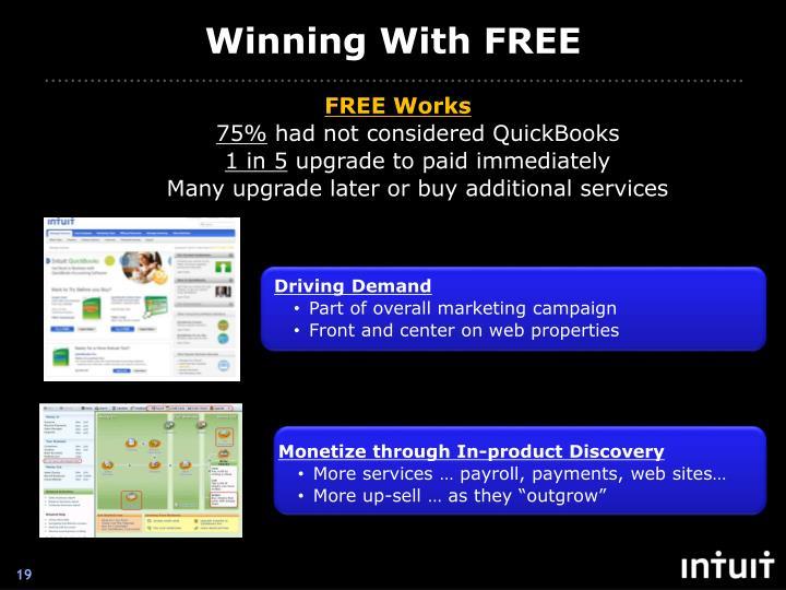 Winning With FREE