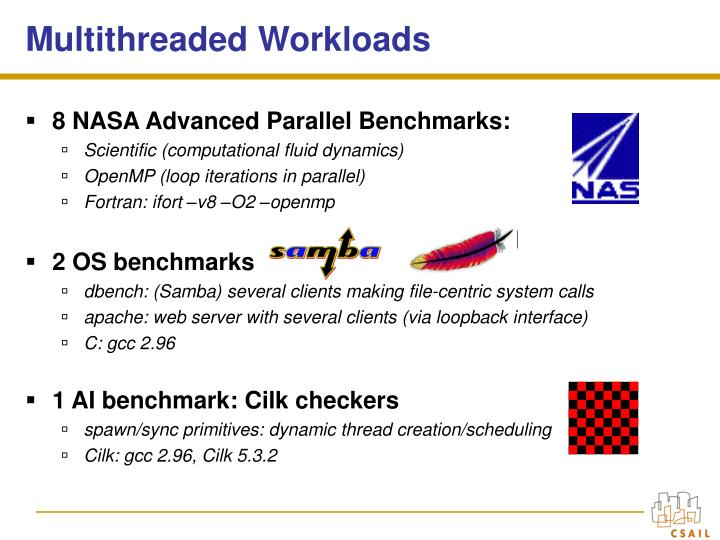 Multithreaded Workloads