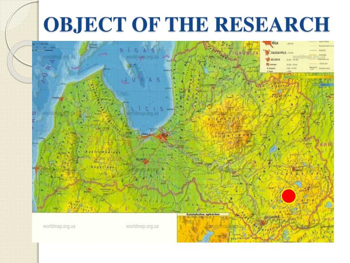 OBJECT OF THE RESEARCH