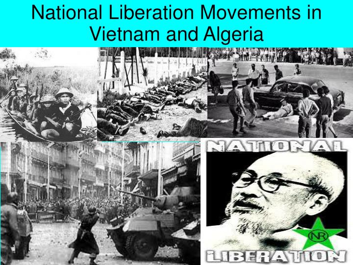 National Liberation Movements in Vietnam and Algeria