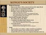 kongo s society