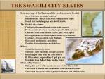 the swahili city states